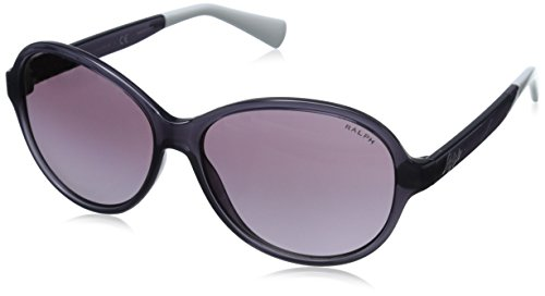 Ralph by Ralph Lauren Women's 0RA5192 Rectangular Sunglasses, Plum,Purpl & Gradient Plum, 58 - Shades Ralph Lauren
