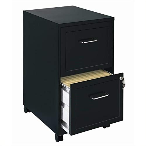 Lorell 16872 2-Drawer Mobile File Cabinet, - Mobile Cabinet File Drawer 2