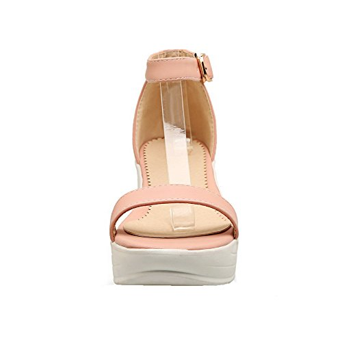 Toe With Mid Aalardom Open Rosa Heel Sandali Women Buckle Tsmlg004972 Pu Dress TwCwqxI4