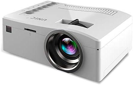Electz Proyector, Mini proyector portátil, proyector de Video LCD ...