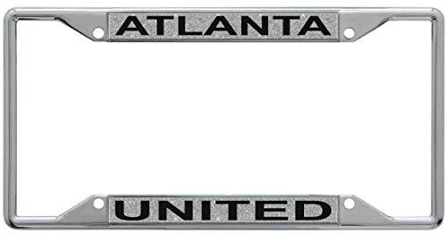 United License Plate - WinCraft Atlanta United Premium License Plate Frame, Glitter Edition