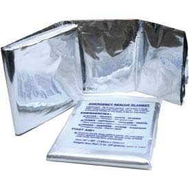 Kemp Emergency Blanket, 10-601, (Pack of 50) (10-601)