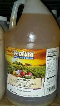 Ventura: Italian Dressing 1 Gal (4 Pack)