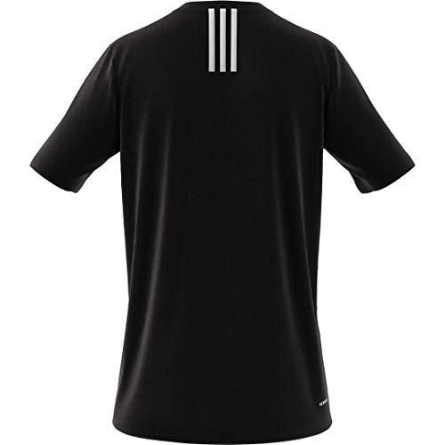 adidas Men's Primeblue Designed 2 Move 3-Stripes Tee 5