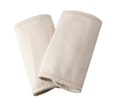 Ergobaby Organic Cotton Fabric Teething Pads, Natural