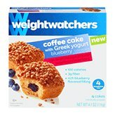 Weight Watchers Blueberry Coffee Cake with Greek Yogurt - 2 Pack - Coffee Yogurt