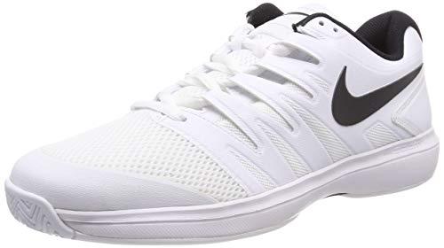 Nike Men's Air Zoom Prestige Tennis Shoe (White/Black, 11.5 M US) ()