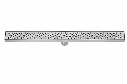 DreamDrain Brushed Stainless Linear Shower Drain Rain - 36 - Www Outlet Com Rb