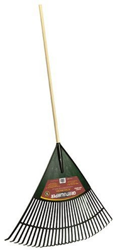 Ames Aluminum Rake - The AMES Companies, Inc True Temper 30-Inch Greensweeper Poly Leaf Rake - 1923000