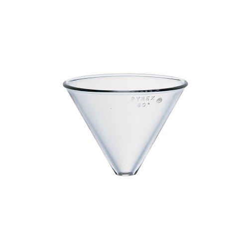 Corning Pyrex - Corning Pyrex Borosilicate Glass Plain Stemless Funnel, 100mm Top I.D