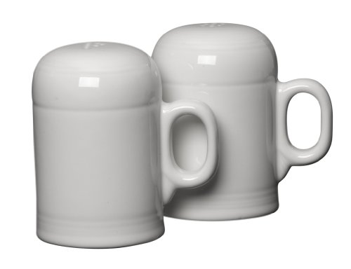Fiesta Rangetop Salt and Pepper Set, White