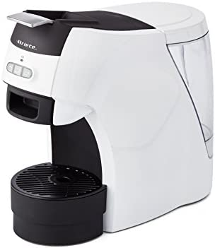 Ariete 1301, Macchina per Espresso Compatibile con Cialde ESE Biodegradabili e Macinato in Polvere, Caffè Lungo o Corto, Griglia Regolabile per Tazza Grande e Piccola, Autospegnimento, 1100 Watt