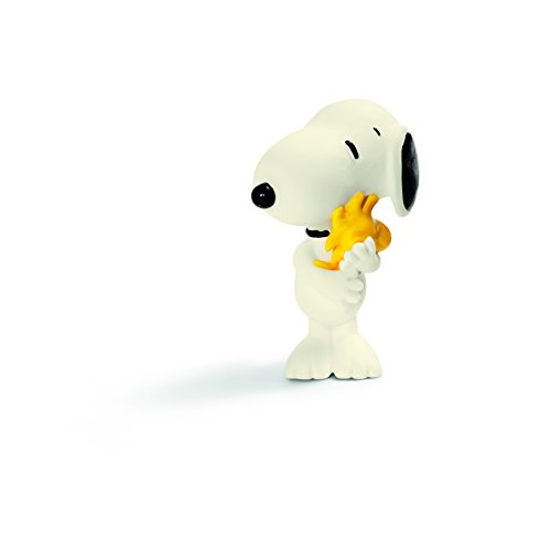 Schleich Peanuts Snoopy Hugging Woodstock Figure