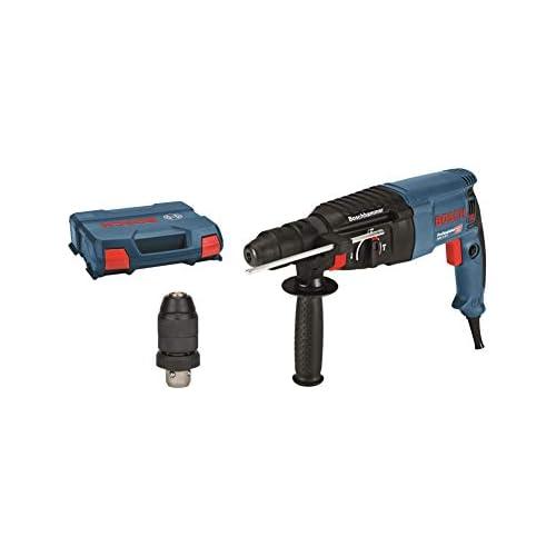 chollos oferta descuentos barato Bosch Professional GBH 2 26 F Martillo perforador combinado 2 7 J máx hormigón 26 mm portabrocas SDS plus cilíndrico en maletín