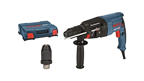 Bosch Professional GBH 2-26 F - Martillo perforador combinado (2,7 J, max hormigon 26 mm, portabrocas SDS plus + cilindrico, en maletin)