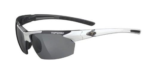 Tifosi Jet White/Gunmetal Wrap, White & Gunmetal, 65 mm