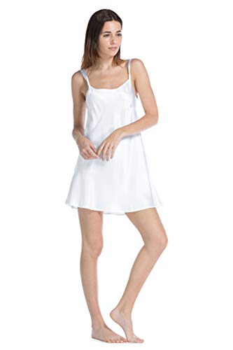 Fishers Finery Women s 100% Pure Mulberry Silk Chemise  Nightgown ... 38d0354f6