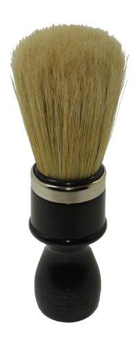 Omega Shaving Brush # 10098 Professional Boar Bristle (Boar Hair Shaving Brush)