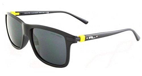 para de Sol Negro Polo Hombre Ralph Black Shiny Gafas 500187 Lauren xtZqZwXIg