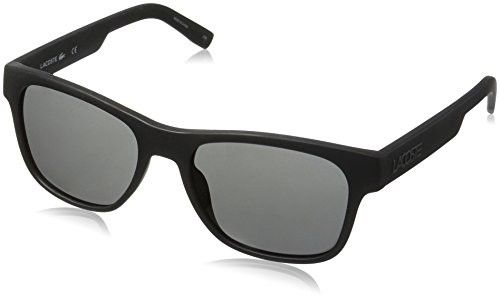Lacoste Unisex L829S Rectangular Sunglasses, Matte Black, 54 - Stylish Sunglasses 2016
