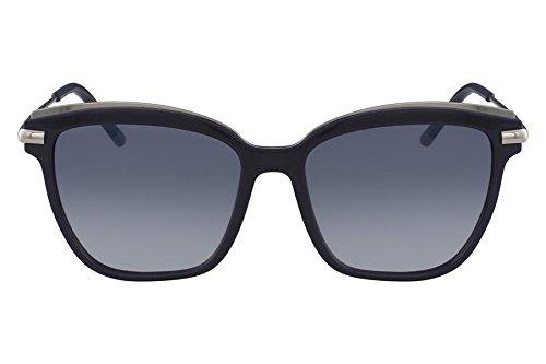 65e785b17 Óculos CK Ck1237S 414 Azul Lente Azul Flash Degradê Tam 55: Amazon ...