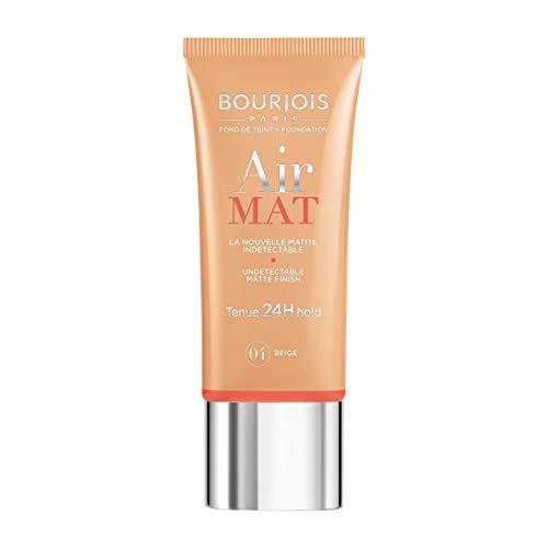 Bourjois Air Mat Undetectable Matte Finish 24H Foundation For Women, 04 Beige, 1 Ounce