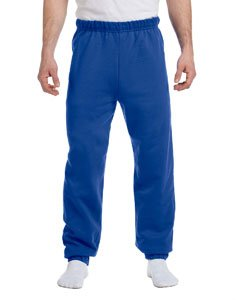 Blue Team Fleece Sweatpants - Jerzees mens 8 oz. 50/50 NuBlend Fleece Sweatpants(973)-ROYAL-XL