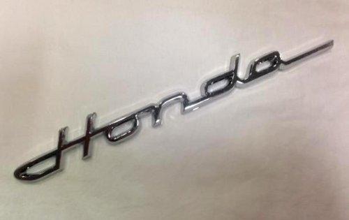 Honda Script Chrome 3D Emblem Amazoncouk Car Motorbike