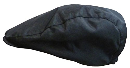 N'ice Caps Boys Newsboy Cap (3-7yrs, black)