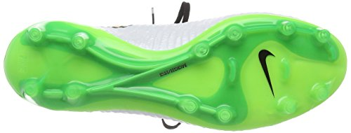 Nike Magista Obra Fg, Herren Fußballschuhe Weiß (white/poison Green/black/total Orange)