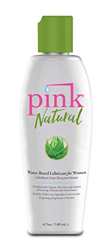 Pink Natural Sexual Lubricant, 4.7 Ounce ()