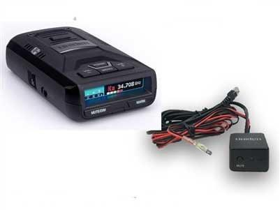 (Uniden R3 + Hardwire Kit w/ Mute Button Bundle)