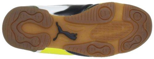 Puma Universal IT Jr Unisex-Kinder Hallenschuhe Gelb (blazing yellow-black-whit 01)