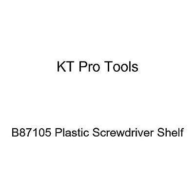 KT Pro Tools B87105 Plastic Screwdriver Shelf