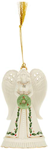Lenox 2018 Angel Bell, - Bell Gold Ornament
