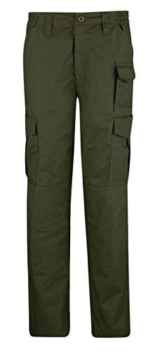 (Propper Women's Uniform Tactical Pant, Olive Green, Size 8 Unhemmed)