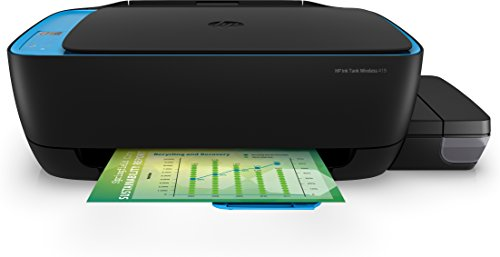 HP 419 All-in-One Wireless Ink Tank Color Printer (Black)