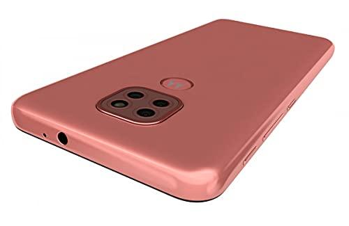 Motorola Moto G9 Play Dual-SIM 64GB ROM + 4GB RAM (GSM Only | No CDMA) Factory Unlocked 4G/LTE Smart Phone (Spring Pink) – International Version