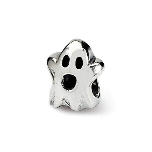 925 Sterling Silver Charm For Bracelet Kids Ghost Bead Kid Line Fine Jewelry For Women Gift Set ()