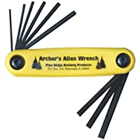 Pine Ridge Archery Archer's Allen - Juego de Llaves inglesas