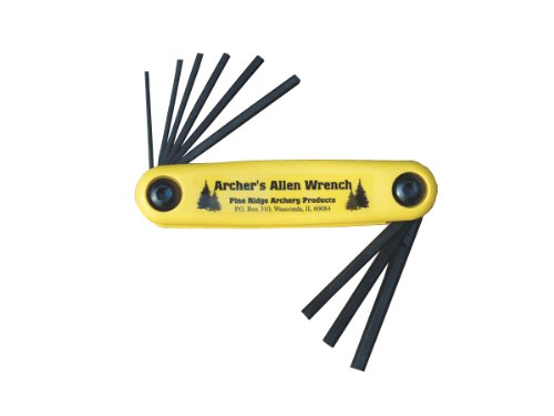 Pine Ridge Archery Archer's Allen Wrench Set, X-Large