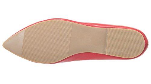 Days Rossetto Ballerina Rosso Apparel da Design Trucco Scarpe Dancing Donna Banned EXTqq