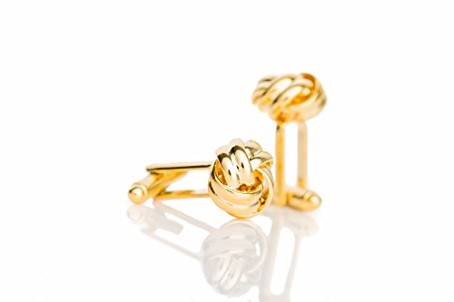 Men's Gold Luxury Shirt Cufflinks By BERGER DESIGNS Cool Design That Matches Your Personal Everyday Business & Formal Outfits Style – For Wedding, Grooms & Best Men – The Perfect (Mens Dress Up Outfits)