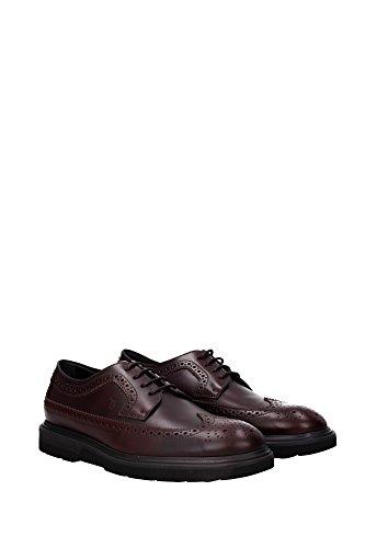 Rouge lacets à pour Chaussures Tod's ville homme de rouge rouge PqzpBwIBnx