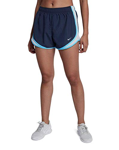Shorts Running Tempo Fit Dri Nike Women (NIKE Women's Dri-FIT Tempo Running Shorts M Thunder Blue/Wolf Grey)