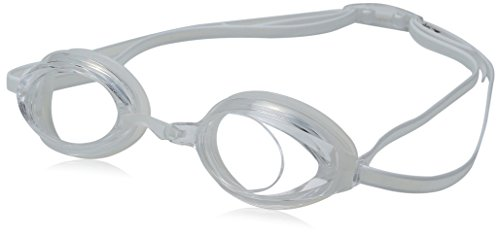 Speedo Jr. Vanquisher 2.0 Swim Goggles, Clear, One Size