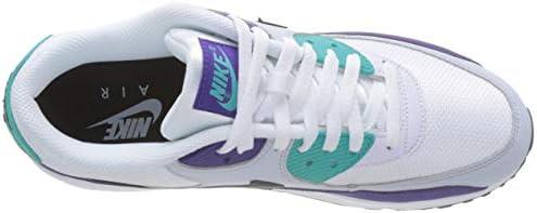 Nike Air Max 90 Essential, Men's Shoes, White (WhiteBlack