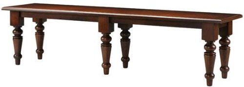 Spindle Collection - Home Decorators Collection Martha Stewart Living153; Solutions Spindle Bench, DOUBLE 70Wx17 D, SEQUOIA