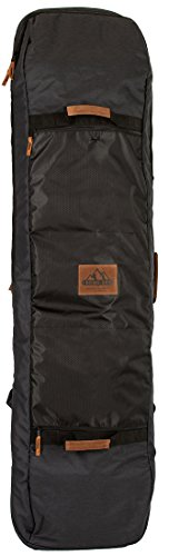Rome Snowboards Roadie Snowboard Travel Bag, Black, X Large
