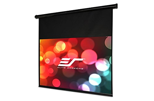 Elite screens starling series 135 inch diagonal 16 9 for Motorized drop down projector screen